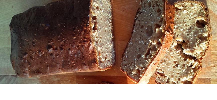 לחם כוסמת ללא שמרים וללא גלוטן